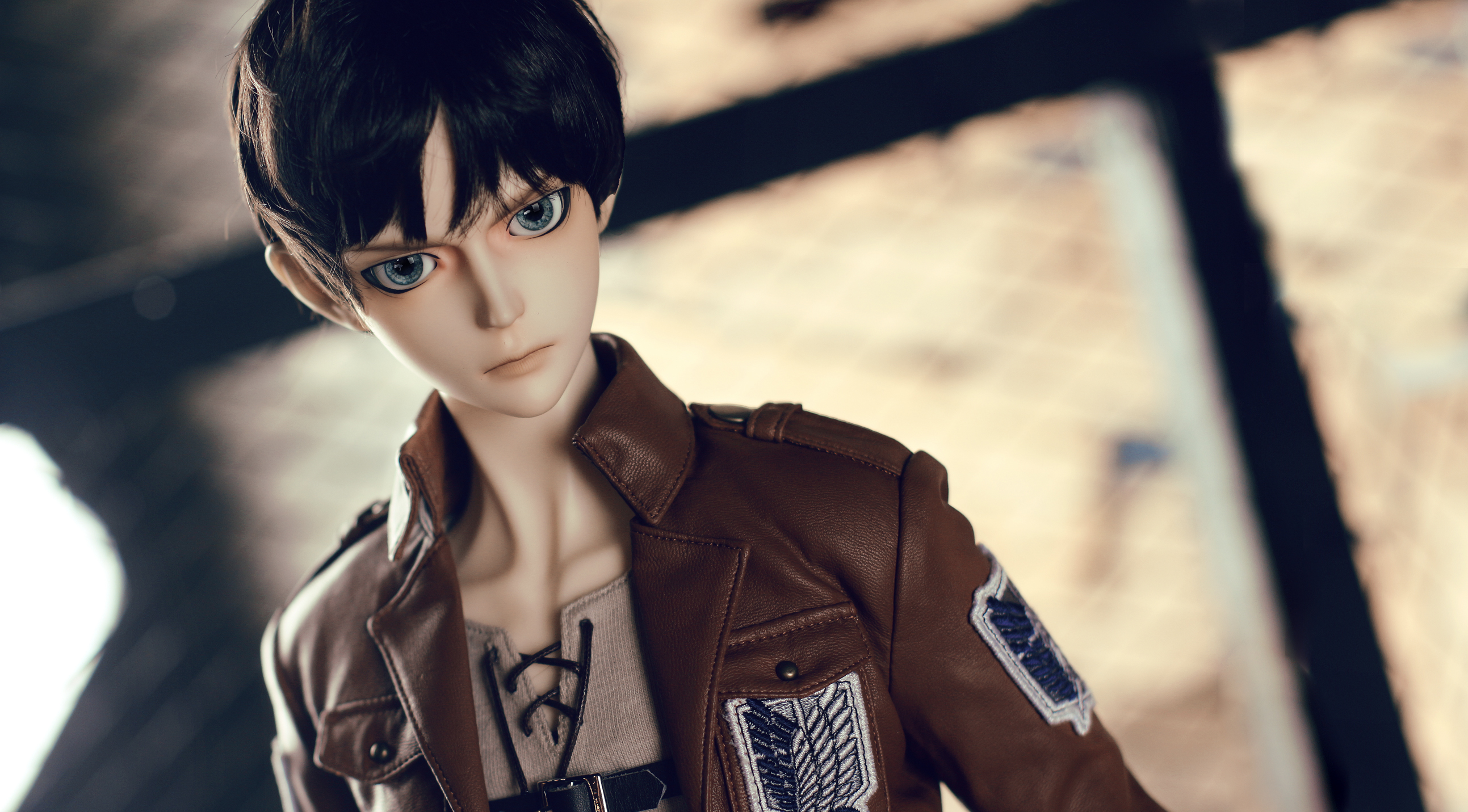 EREN YEAGER BALL JOINTED DOLL