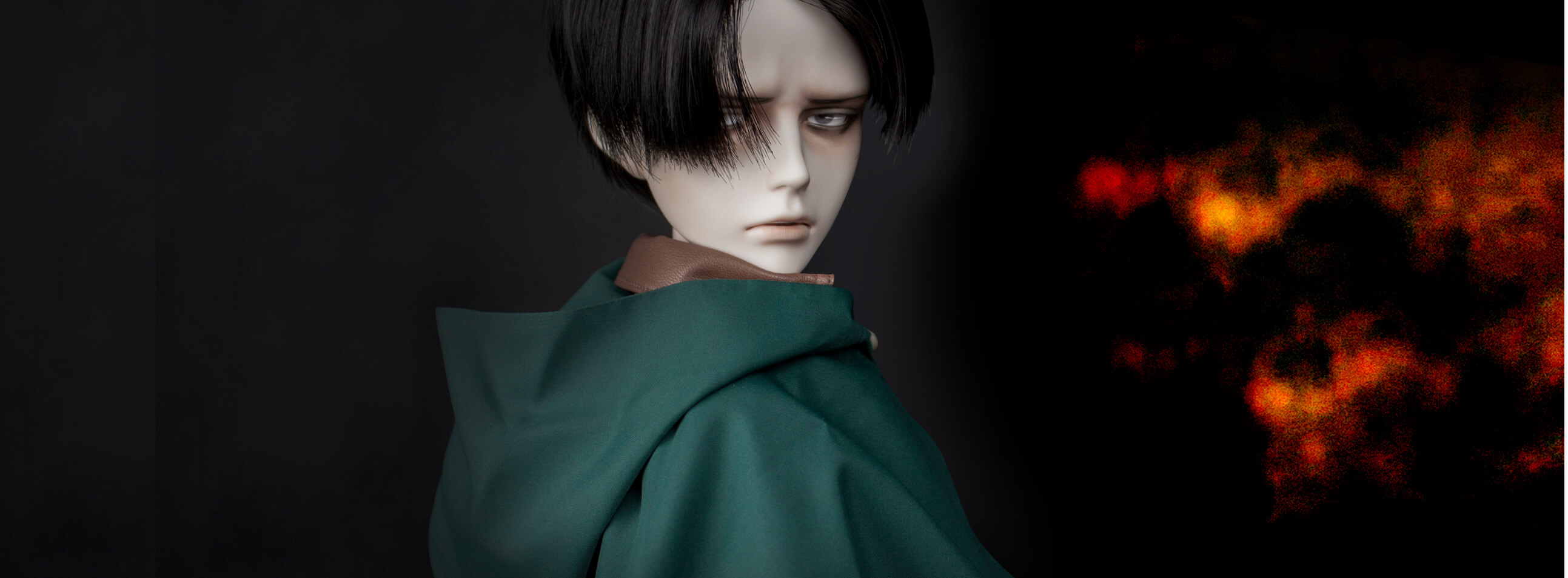 'Attack on Titan' Levi Captain Cast Doll will start accepting orders at the same time!